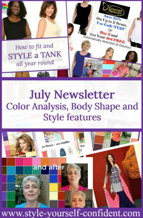Style Yourself Confident newsletter July 2017  http://www.style-yourself-confident.com/your-style-047.html