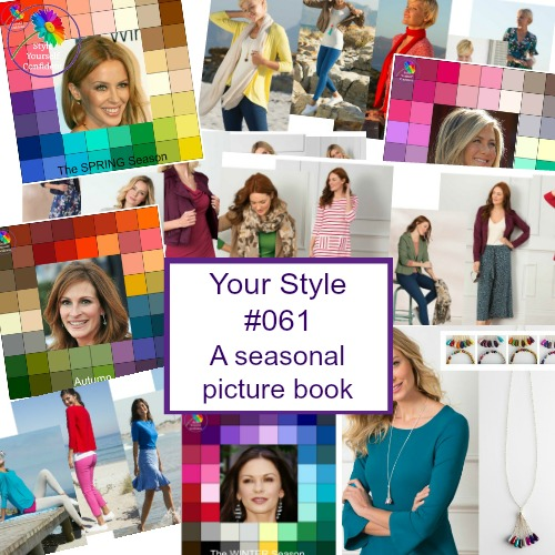 Style Yourself Confident - Color Analysis Body Shape and Style #onlinecoloranalysis   http://www.style-yourself-confident.com