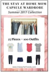 The Stay at Home Mom Capsule Wardrobe Plan Summer 2017 #capsulewardrobe #stay at home Mom #Summeroutfits2017 https://transactions.sendowl.com/stores/7148/29996
