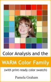 'Color Analysis and the Warm Color Family' #coloranalysisbook #coloranalysis #colorpalette    http://azon.ly/Fb01
