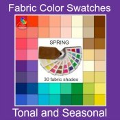 Fabric Color Swatches #colorswatch #coloranalysis #bodyshape #colorandstyle https://www.style-yourself-confident.com/