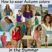 How to wear Autumn colors in the Summer