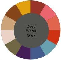 Deep Warm palette