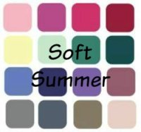 What's a Soft Summer? If you're a Summer your colors are always Soft, always Cool and always Light - of you're only getting a portion of this lovely mix you're missing out!