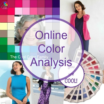 Online Color Analysis #coloranalysis #onlinecoloranalysis https://www.style-yourself-confident.com/online-color-analysis.html