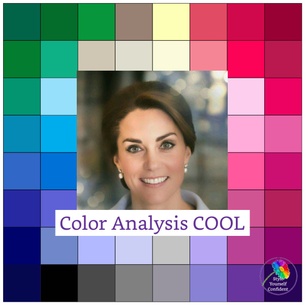 Color Analysis Cool #coolcolors #coolskin #coloranalysiscool https://www.style-yourself-confident.com/color-analysis-cool.html