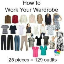 How to work your wardrobe #workyourwardrobe #capsulewardrobe  https://www.style-yourself-confident.com/work-your-wardrobe.html