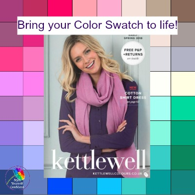 Bring your color swatch to life with Kettlewell #kettlewellcolours #colorswatch #colorpalette https://www.style-yourself-confident.com/kettlewell-colours.html