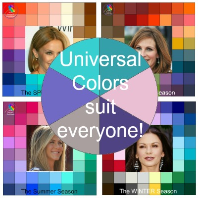 Universal Colors suit just about everyone! #univeralcolors #motherofthebride https://www.style-yourself-confident.com/universal-colors.html