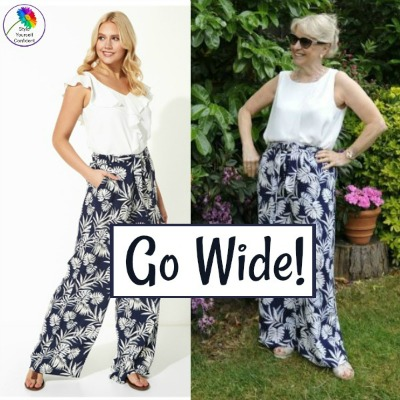 Wide leg pants #widelegpants https://www.style-yourself-confident.com/wide-leg-pants.html
