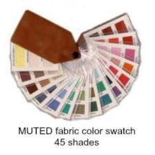 Muted fabric swatch 45 colors  #color analysis swatch #muted color family #color analysis https://www.style-yourself-confident.com/how-color-analysis-works.html