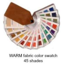 Warm fabric swatch 45 colors  #color analysis swatch #warm color family #color analysis https://www.style-yourself-confident.com/how-color-analysis-works.html