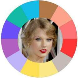 Warm natural coloring #warm coloring #warm makeup #warm skin tone #Taylor Swift https://www.style-yourself-confident.com/warm-skin-tone.html