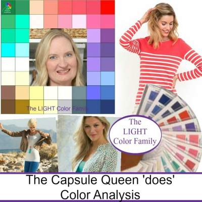 Before and After Online Color Analysis #coloranalysis #onlinecoloranalysis #capsulewardrobe https://www.style-yourself-confident.com/before-and-after-color-analysis.html