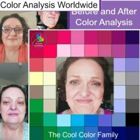 Before and After Color Analysis #coloranalysis #personalcoloranalysis https://www.style-yourself-confident.com/before-and-after-color-analysis.html