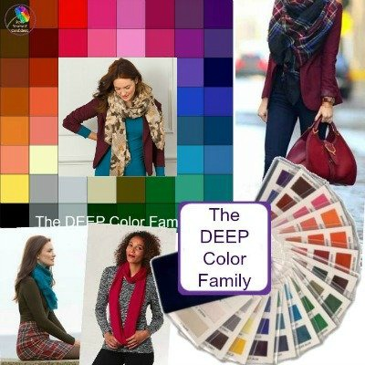 Color Analysis Deep #deepcolors #coloranalysis https://www.style-yourself-confident.com/color-analysis-deep.html