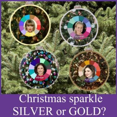 What's your Seasonal Sparkle!  #christmassparkle #seasonalcoloranalysis  https://www.style-yourself-confident.com/christmas-sparkle.html