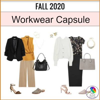 Workwear Capsule Fall 2020 #capsulewardrobe #workwearcapsule https://www.style-yourself-confident.com/gypo-style-challenge.html