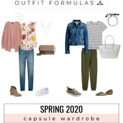 GYPO Outfit formulas 2020 - Capsule Wardrobe for Spring https://www.style-yourself-confident.com/gypo-style-challenge.html