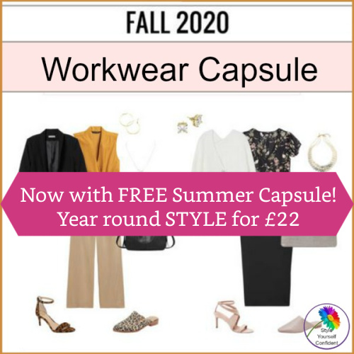 Capsule Wardrobe Plans Buy ONE GET ONE FREE! #capsulewardrobe https://www.style-yourself-confident.com/gypo-style-challenge.html