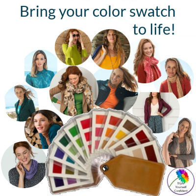 Kettlewell Colours bring your color swatch to life! #kettlewellcolours #colorswatch #coloranalysis https://www.style-yourself-confident.com/kettlewell-colours.html
