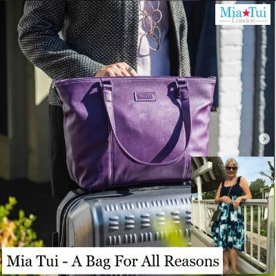 Mia Tui travel bag - the bag every woman needs! #miatui #miatuitravelbag #travelgirl https://www.style-yourself-confident.com/mia-tui-travel-bag.html