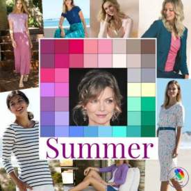 Summer color analysis #summerseason #summercolors https://www.style-yourself-confident.com/seasonal-color-analysis-summer.html
