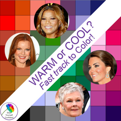 Warm or Cool, Fast track to Color #coloranalysis #warmorcool https://www.style-yourself-confident.com/warm-or-cool.html