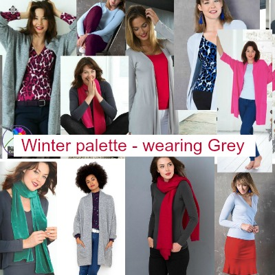 Winter palette wearing gray #wintercolors #wintergrey https://www.style-yourself-confident.com/winter-pallet-wearing-grey.html
