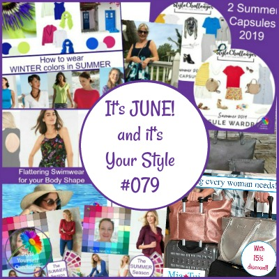 Color, Shape and Style. Style Yourself Confident newsletter June 2019   #coloranalysis #bodyshape #fashionstyle https://www.style-yourself-confident.com/your-style-079.html