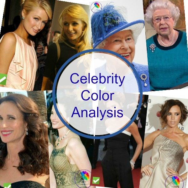 Celebrity Color Analysis #celebritycoloranalysis #celebritycolors https://www.style-yourself-confident.com/celebrity-color-analysis.html
