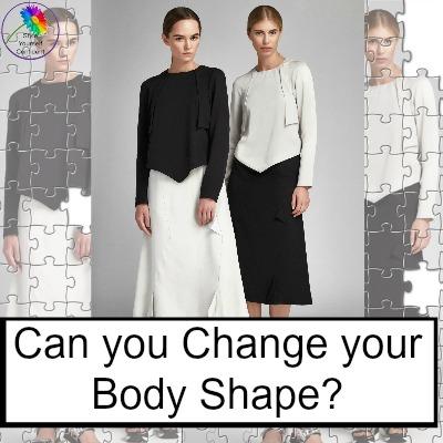 Can you change your body shape? #changebodyshape #bodyshape https://www.style-yourself-confident.com/change-your-body-shape.html