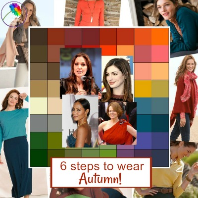 6 steps to wearing Autumn colors #autumncolors #autumnseason #coloranalysis  https://www.style-yourself-confident.com/6-steps-to-wearing-autumn.html