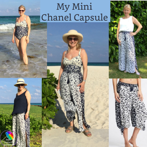 Chanel Capsule #chanelcapsule #holidaycapsule https://www.style-yourself-confident.com/mini-chanel-capsule.html
