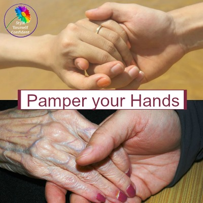 Pamper your hands #pamperyourhands #handcare https://www.style-yourself-confident.com/pamper-your-hands.html