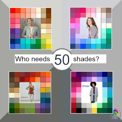 Who needs 50 Shades of Grey? Just find the one that best suits you! #shadesofgrey #shadesof https://www.style-yourself-confident.com/shades-of-grey.html