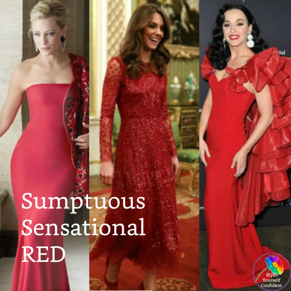 Shades of Red - Warm or Cool?  #shadesofred #warmorcoolred #red https://www.style-yourself-confident.com/shades-of-red.html