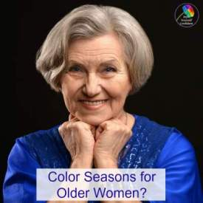 Color seasons for older women #colorforolderwomen #colorformature https://www.style-yourself-confident.com/colour-seasons-for-older-women.html