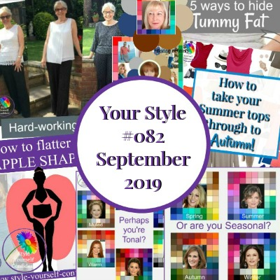 Your Style 082 newsletter #styleyourselfconfident #coloranalysis  https://www.style-yourself-confident.com/your-style-082.html