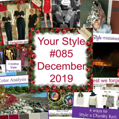 Your Style 085 December 2019 #coloranalysis #partywearover60 #colorandstyle https://www.style-yourself-confident.com/your-style-085.html