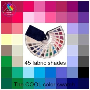 Cool tonal coloring #Cool color family  #color analysis swatch  https://www.style-yourself-confident.com/cool-tonal-coloring.html