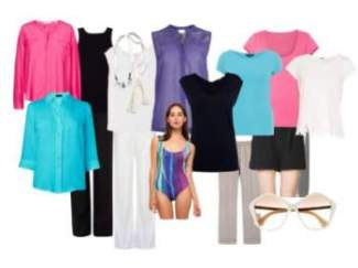 Holiday wardrobe - Winter / Cool colors #packing for holiday https://www.style-yourself-confident.com/holiday-wardrobe.html