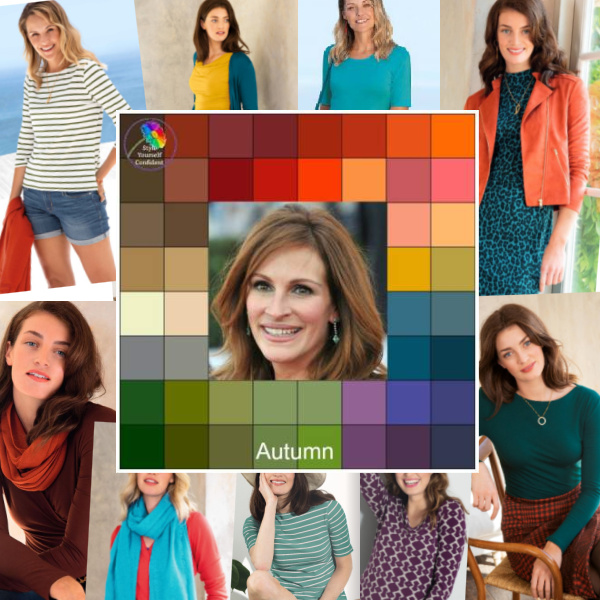 Seasonal color analysis Autumn #Autumn season  #Autumn colors #color analysis http://www.style-yourself-confident.com/seasonal-color-analysis-autumn.html