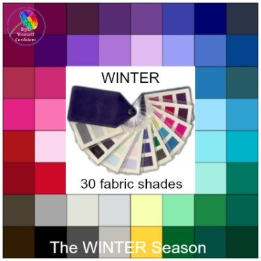 Wear WINTER colors in Summer #wintercolors #wintercolorsinsummer #winterseason https://www.style-yourself-confident.com/winter-colors-in-summer.html