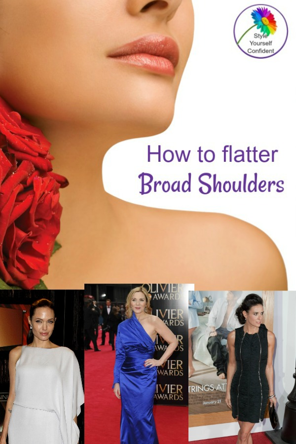 How to flatter broad shoulders #broad shoulders  https://www.style-yourself-confident.com/dress-broad-shoulders.html