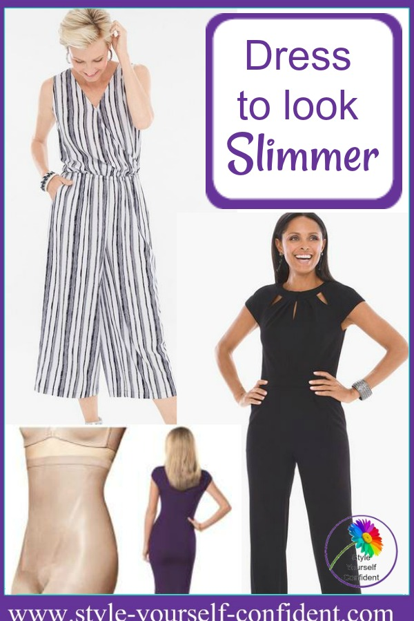 Dress to look slimmer #lookslimmer  https://www.style-yourself-confident.com/dress-to-look-slimmer.html