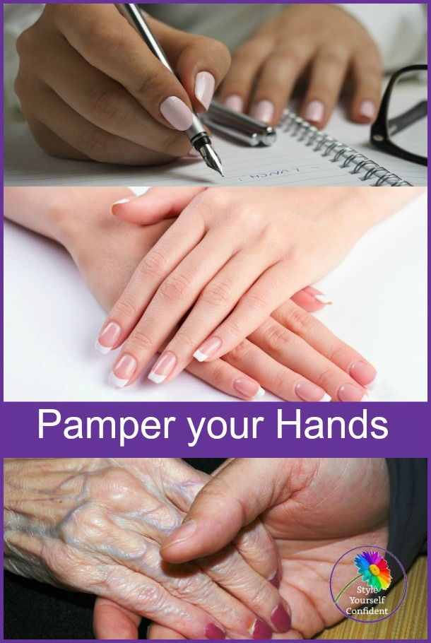 Pamper your hands #pamperyourhands https://www.style-yourself-confident.com/pamper-your-hands.html