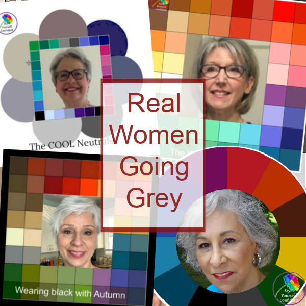 Going grey? Real women share their photos with us https://www.style-yourself-confident.com/real-women-going-grey.html