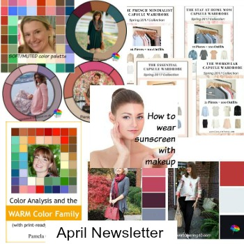 Style Yourself Confident monthly Newsletter - articles, tips and features about COLOR, SHAPE and STYLE articles http://www.style-yourself-confident.com