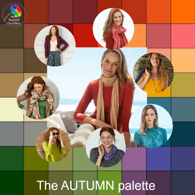 6 ways to wear Autumn colors #autumncolors #autumn #wear Autumn https://www.style-yourself-confident.com/6-steps-to-wearing-autumn.html